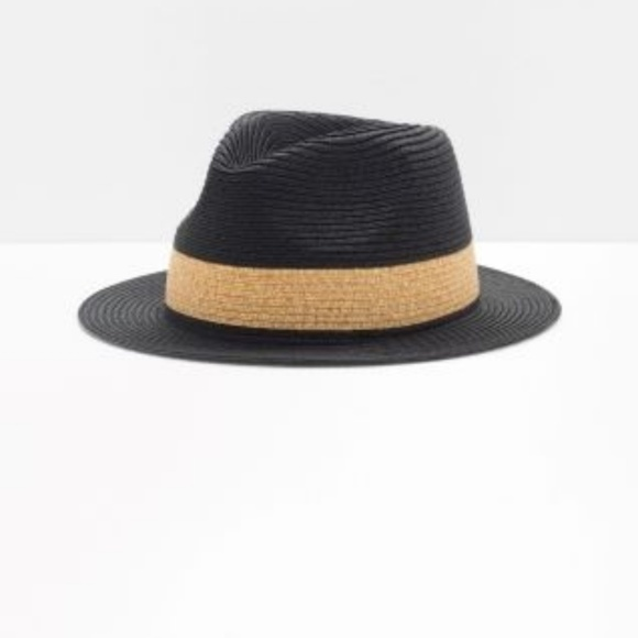 4bb17db9b5349 Other Stories Accessories - Straw Fedora hat from   other ...